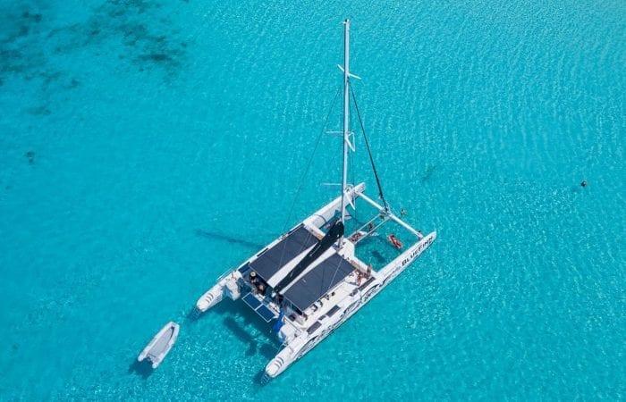 Klein Curacao trip Catamaran